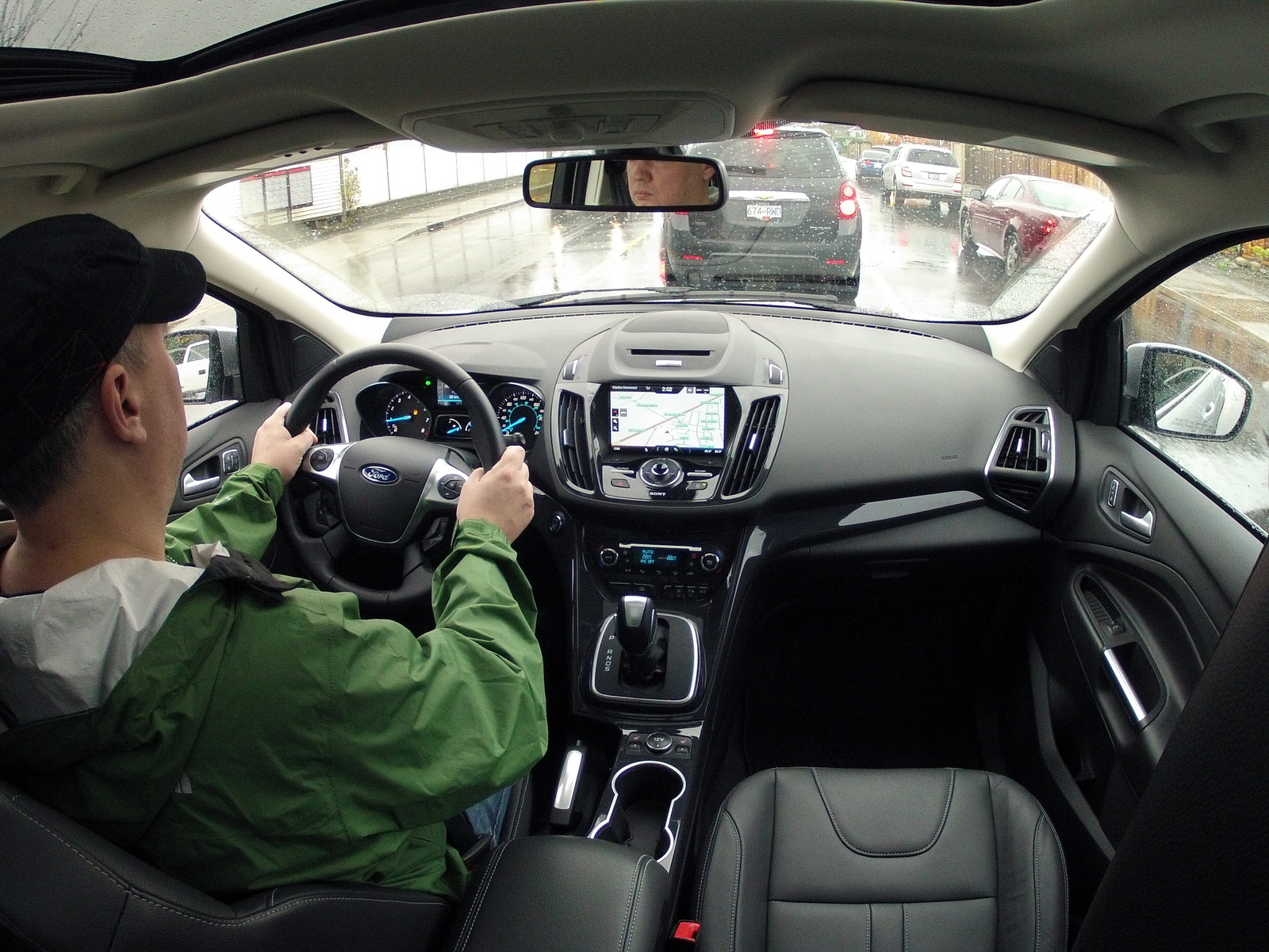 Inside the 2013 Ford Escape