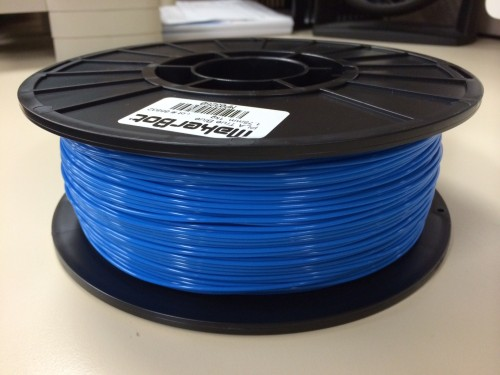 a spool of PLA filament