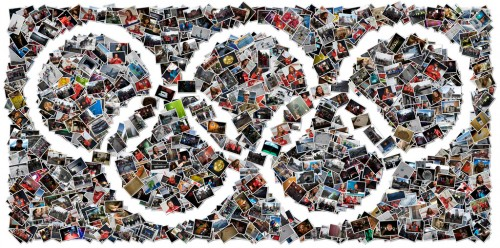 Olympic Rings Photo collage
