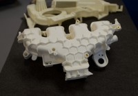 Car part 3D printed in nylon