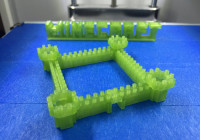 3d printed minecraft castle